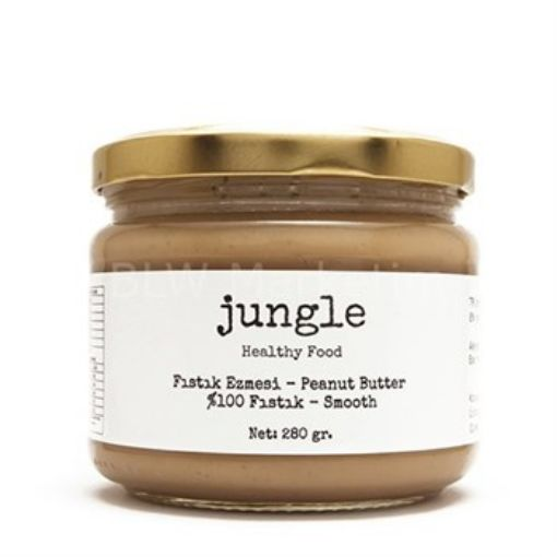 Jungle Fıstık Ezmesi Sade Pürüzsüz(Smooth) 280gr