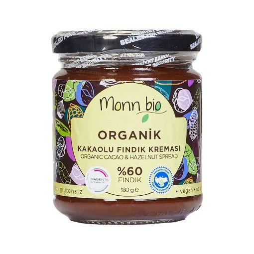Monn Bio Organik %60 Kakaolu Fındık Kreması 180gr
